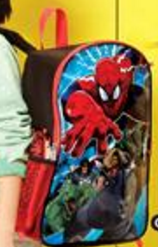 spiderman back pack for back to school