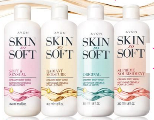 new SSS body washes