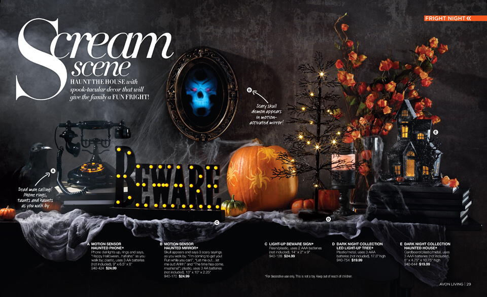 Scream Scene Avon For Your Halloween Fright Successful Career
