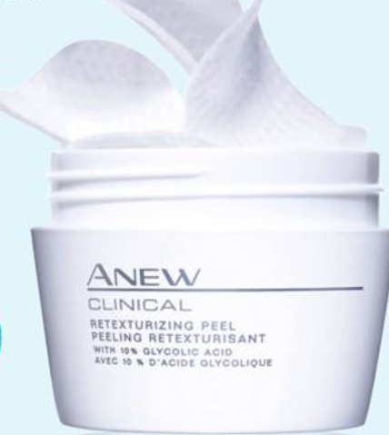 anew clinical Retexturizing Peel