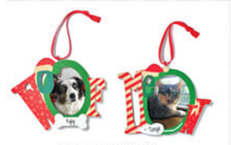 fur baby pet ornament