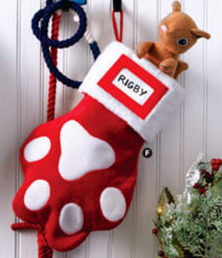 fur baby Stocking