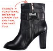 rightinstep ankle boot