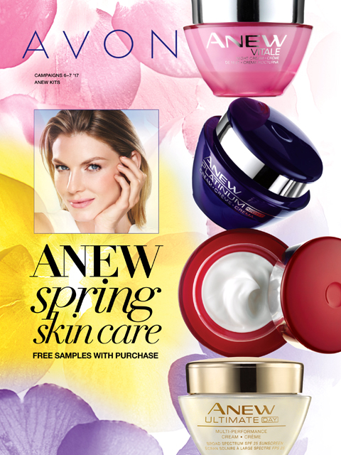 anew spring skin care