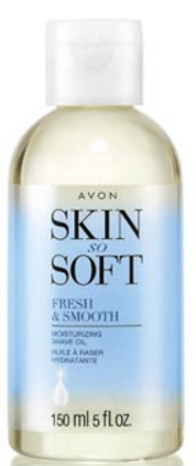 summer soft with Shave Oil