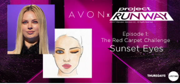 Project Runway with Avon Makeup