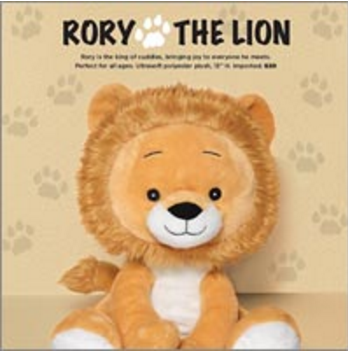 Rory The Lion Fundraiser with Avon
